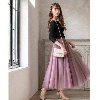 フィフス(fifth)のfifth♡チュールスカート(ロングスカート)