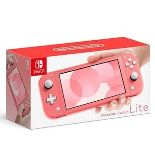 Nintendo Switch Lite コーラルピンク Coral(携帯用ゲーム機本体)