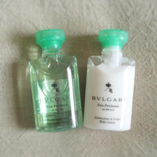 ブルガリ(BVLGARI)の【新品】オーテヴェールボディーケアセット(ボディソープ / 石鹸)