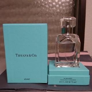 ティファニー(Tiffany & Co.)の0時迄出品  ティファニー  シアーオードトワレ  75ml(ユニセックス)
