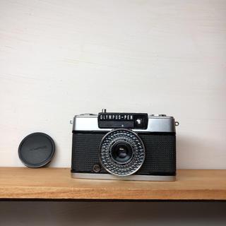 オリンパス(OLYMPUS)のOLYMPAS PEN EE-3【整備品、完動品】キャップ付(フィルムカメラ)