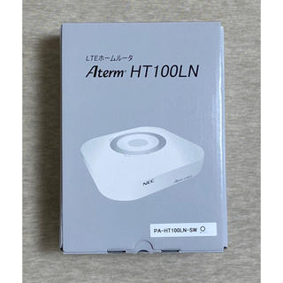 エヌイーシー(NEC)のNEC LTEホームルーター HT100LN(PC周辺機器)