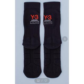 ワイスリー(Y-3)の完売品‼️ Y-3 ウーヴンロゴソックス サイズM(ソックス)