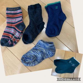 クツシタヤ(靴下屋)のベビーソックス 靴下 5足セット 11〜13センチ(靴下/タイツ)