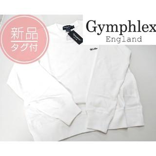 ジムフレックス(GYMPHLEX)のタグ付新品◆ジムフレックス◆スウェットプルオーバー   ビショップ(トレーナー/スウェット)
