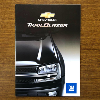 シボレー(Chevrolet)のシボレー トレイルブレイザー カタログ(カタログ/マニュアル)