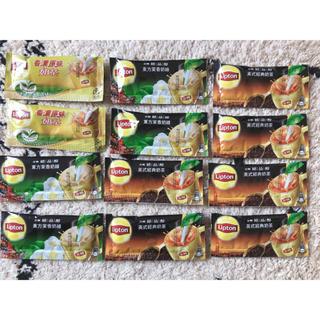 ユニリーバ(Unilever)のリプトン/台湾/12月購入/ホットのタピオカミルクティに!(茶)