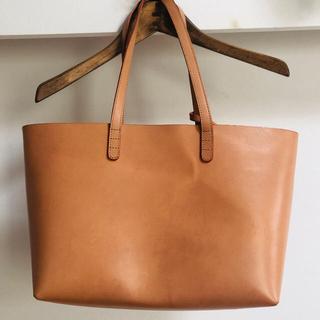 マンサーガブリエル(MANSUR GAVRIEL)のMANSUR GAVRIEL 保存袋付マンサーガブリエル トートバッグ ベージュ(トートバッグ)