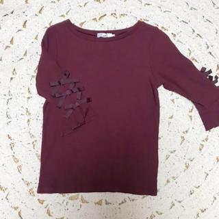 クチュールブローチ(Couture Brooch)のクチュールブローチ リブカットソー(カットソー(長袖/七分))