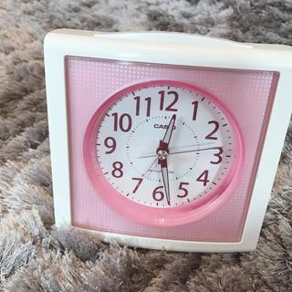 カシオ(CASIO)の目覚まし時計(置時計)