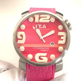 アイティーエー(I.T.A.)のI.t.a Casanova beach 腕時計 電池交換済00.12.40(腕時計)