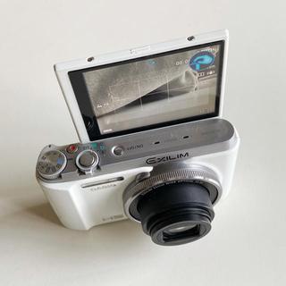 カシオ(CASIO)のCASIO デジカメ EX-ZR1000 ➕本革カメラケース(コンパクトデジタルカメラ)