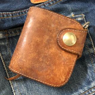 レッドムーン(REDMOON)のレッドムーン ショートウォレット 財布 サドルレザー(折り財布)