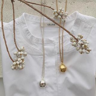 ドゥーズィエムクラス(DEUXIEME CLASSE)のchieko c + wonky ball necklace gold(ネックレス)