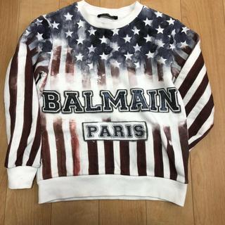 バルマン(BALMAIN)のトレーナー8A長袖 130くらい ロゴ BALMAIN (Tシャツ/カットソー)