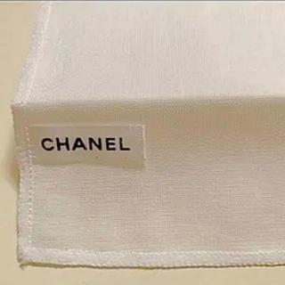 シャネル(CHANEL)のシャネル コットン100% ガーゼ ハンカチ クロス(ハンカチ)