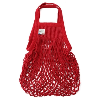 アダムエロぺ(Adam et Rope')のfilt ネットバッグ 赤 SALON adam et rope(かごバッグ/ストローバッグ)