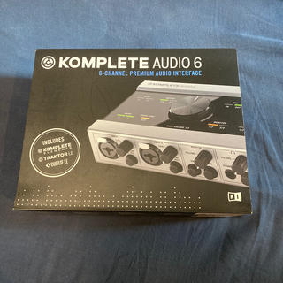 komplete audio 6(ソフトウェア音源)