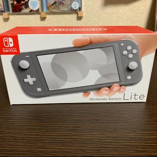 ニンテンドースイッチ(Nintendo Switch)のSwitch Light グレー スイッチ ライト 中古美品(家庭用ゲーム機本体)