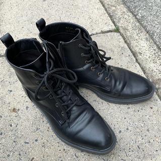 ジーユー(GU)のGU 黒 ブーツ L(ブーツ)