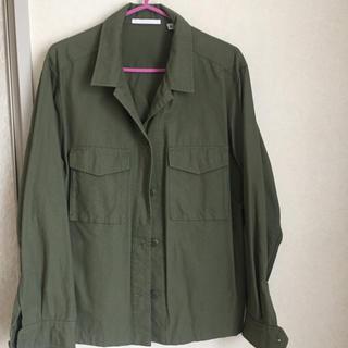 ユニクロ(UNIQLO)のユニクロ カーキシャツ(シャツ/ブラウス(長袖/七分))