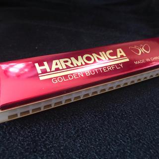 ハーモニカ●赤色●新品●未使用❗️(ハーモニカ/ブルースハープ)