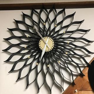 フランフラン(Francfranc)のフランフラン 掛け時計 BIG! 美品、中古(掛時計/柱時計)