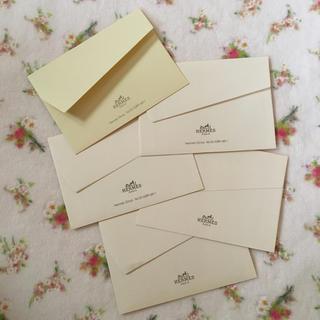 エルメス(Hermes)のHERMES メッセージカード用封筒 5枚(カード/レター/ラッピング)