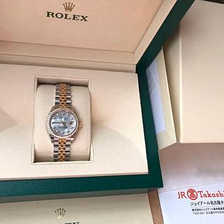 ロレックス(ROLEX)のロレックス正規極美品デイトジャスト31腕時計(腕時計)