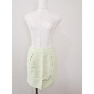 ダズリン(dazzlin)のDazzlin ポケット付き黄色スカート(ミニスカート)