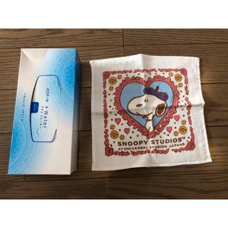 ユニバーサルスタジオジャパン(USJ)の新品 USJ スヌーピー タオル(ハンカチ)