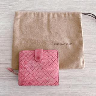 ボッテガヴェネタ(Bottega Veneta)のボッテガヴェネタ レディース 折り財布 ピンク(財布)