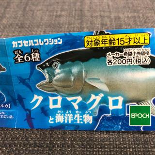 エポック(EPOCH)のクロマグロと海洋生物 ガチャガチャ(その他)