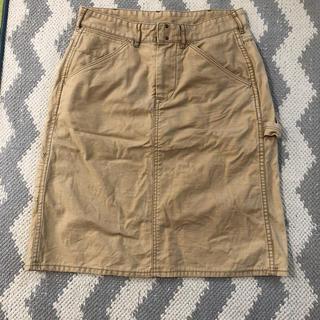 ダントン(DANTON)のDANTON カーゴスカート 34(ひざ丈スカート)