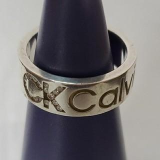 カルバンクライン(Calvin Klein)のカルバン・クライン  シルバーリング15号(リング(指輪))