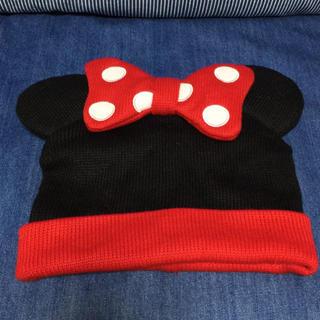 ディズニー(Disney)のミニー ニット帽★TDR(ニット帽/ビーニー)