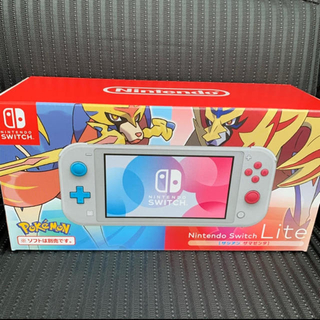 ニンテンドースイッチ(Nintendo Switch)のSwitch Light マゼンタ ザシアン スイッチ ライト 美中古品(家庭用ゲーム機本体)