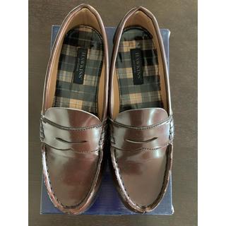 ホーキンス(HAWKINS)のローファー 茶色 ほぼ新品(ローファー/革靴)