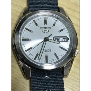 セイコー(SEIKO)の【英Phoenix社製 NATOベルト付】SEIKO 5 日本製 自動巻 腕時計(腕時計(アナログ))