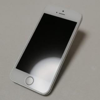 アイフォーン(iPhone)のiPhone 5s Silver 32GB Y!mobile ME336J/A (スマートフォン本体)