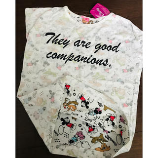 チップアンドデール(チップ&デール)の即完売品 レア 不思議な柄 裏表逆 ディズニー 半袖 シャツ ランニング(Tシャツ/カットソー)