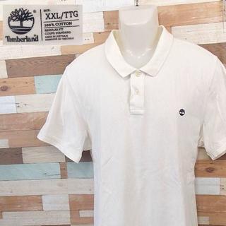 ティンバーランド(Timberland)の【Timberland】 美品 ティンバーランド 半袖ワンポイントポロ XXL(ポロシャツ)