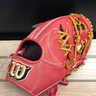 Wilson Staff - 超高級品!ウィルソン 軟式用グローブ 内野手用 定価27,500円 新品未使用