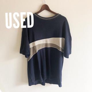 アクネ(ACNE)の最終価格 古着 切替 ビック Tシャツ(Tシャツ/カットソー(七分/長袖))