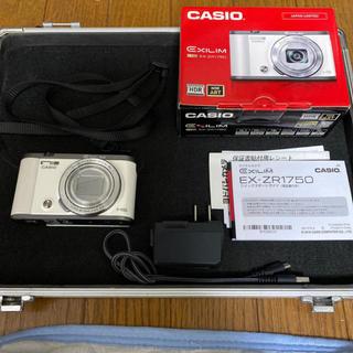 カシオ(CASIO)のEXILIM EX ZR 1750 美品 数回使用 デジカメ(コンパクトデジタルカメラ)
