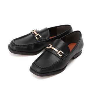 ローリーズファーム(LOWRYS FARM)のLOWRYS FARM スクエアローファー(ローファー/革靴)