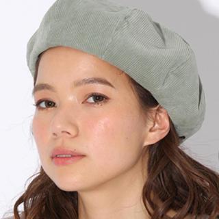 ニコアンド(niko and...)の専用!ニコアンド コーデュロイベレー帽(ハンチング/ベレー帽)