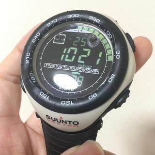 スント(SUUNTO)のSUUNTO スント 時計 ベクター ホワイト ベージュ 廃盤(腕時計(デジタル))