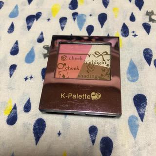 ケーパレット(K-Palette)のKーパレット ワンデイマジックスリーディーパレット(チーク)