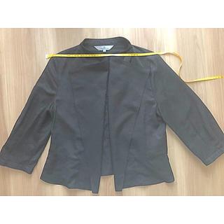 ビアッジョブルー(VIAGGIO BLU)のViaggio Blu ビアッジョブルー ブラック ジャケット  ボレロ(ノーカラージャケット)